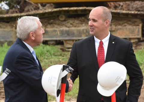 Kyocera breaks ground in 'monumental milestone' for Dan River Region