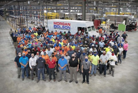 Morgan Olson's Virginia plant delivering jobs and step vans on time, as promised.